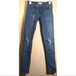 Denim - Denim Ripped Jeans